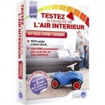 Test de la qualité de l'air - Kit pièce à vivre / chambre